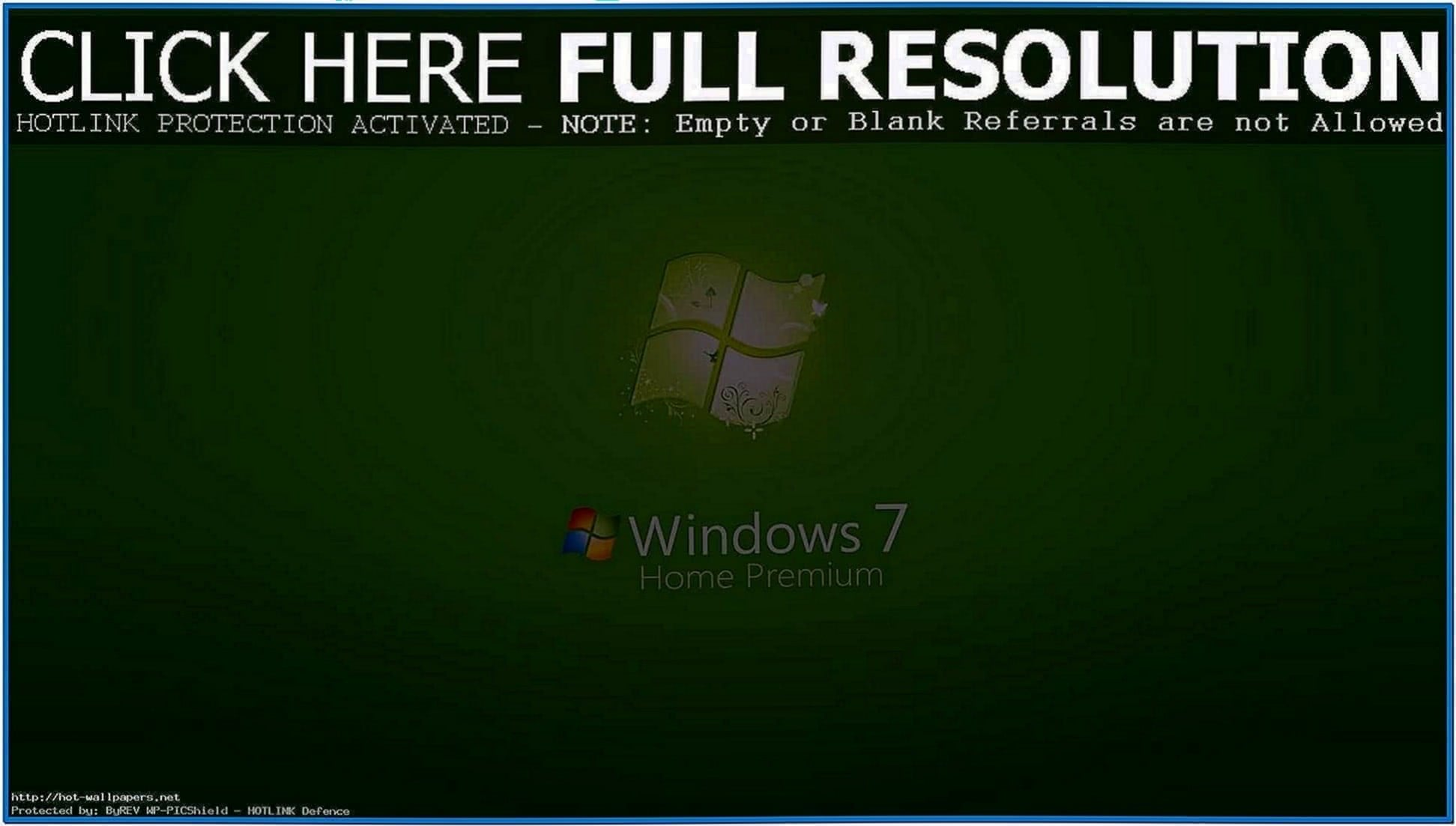 Screensavers Windows Vista Home Premium
