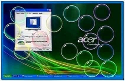 Screensavers Windows xp bubbles