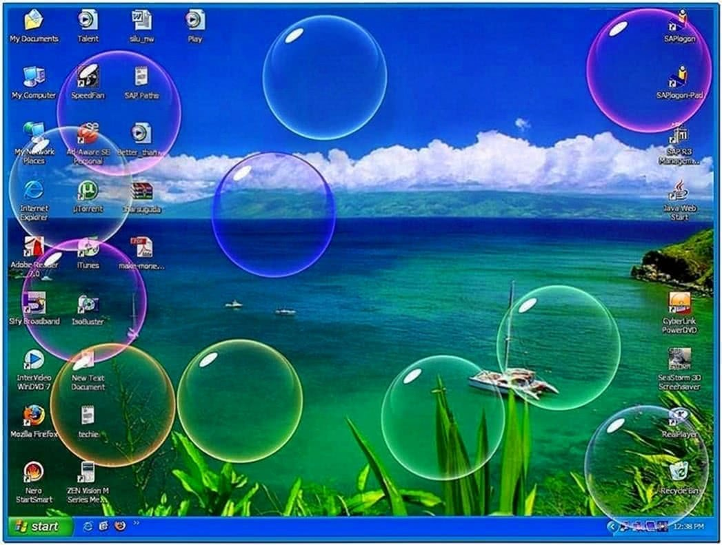 Screensavers XP Bubbles