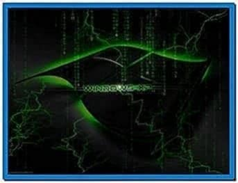 Screensavers xp matrix