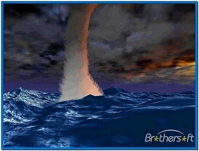 Seastorm 3D Screensaver Mac OS X