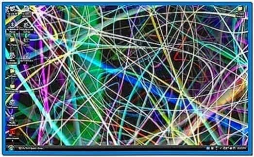 Set screensaver as wallpaper vista