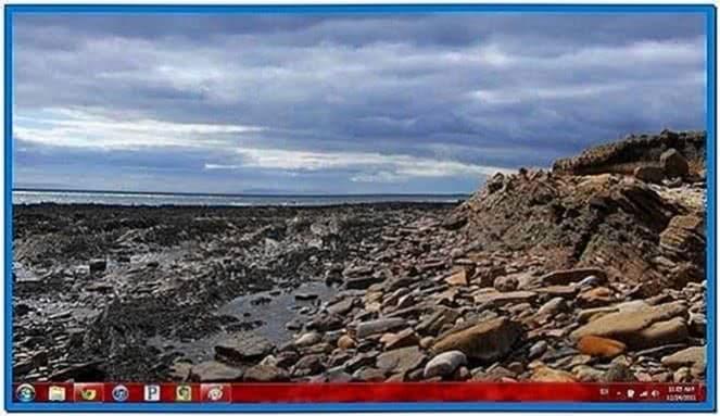 Set Screensaver as Wallpaper Windows XP