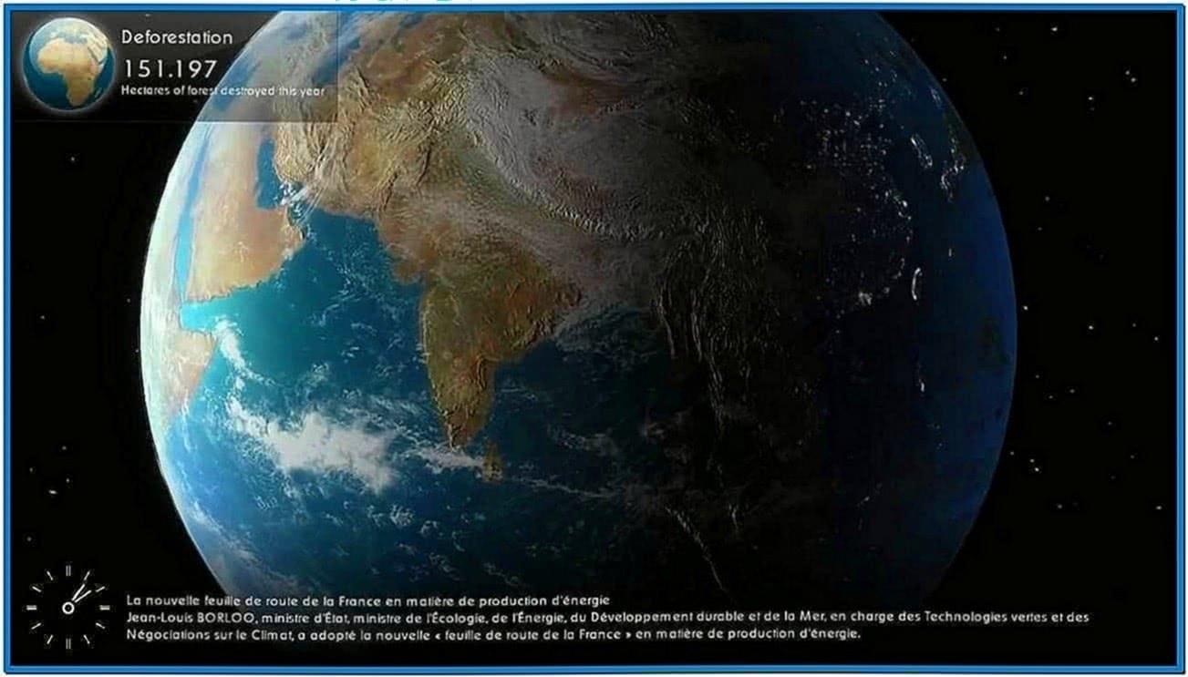 Shiva 3D Earth Screensaver HD