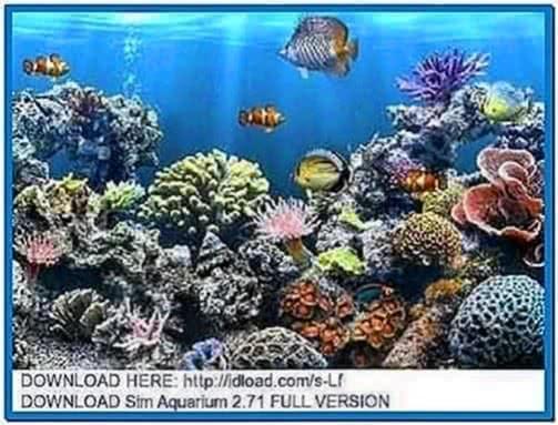 Sim Aquarium 3D Screensaver 2.71