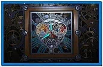 Skeleton Clock 3D Screensaver 1.0