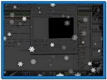 Snow Falling Screensaver Mac