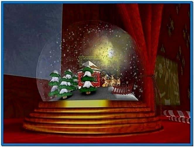 Snow Globe 3D Screensaver 1.0