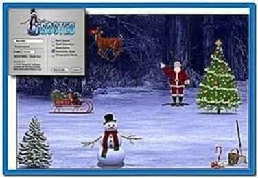 Snow Globe Screensaver Mac