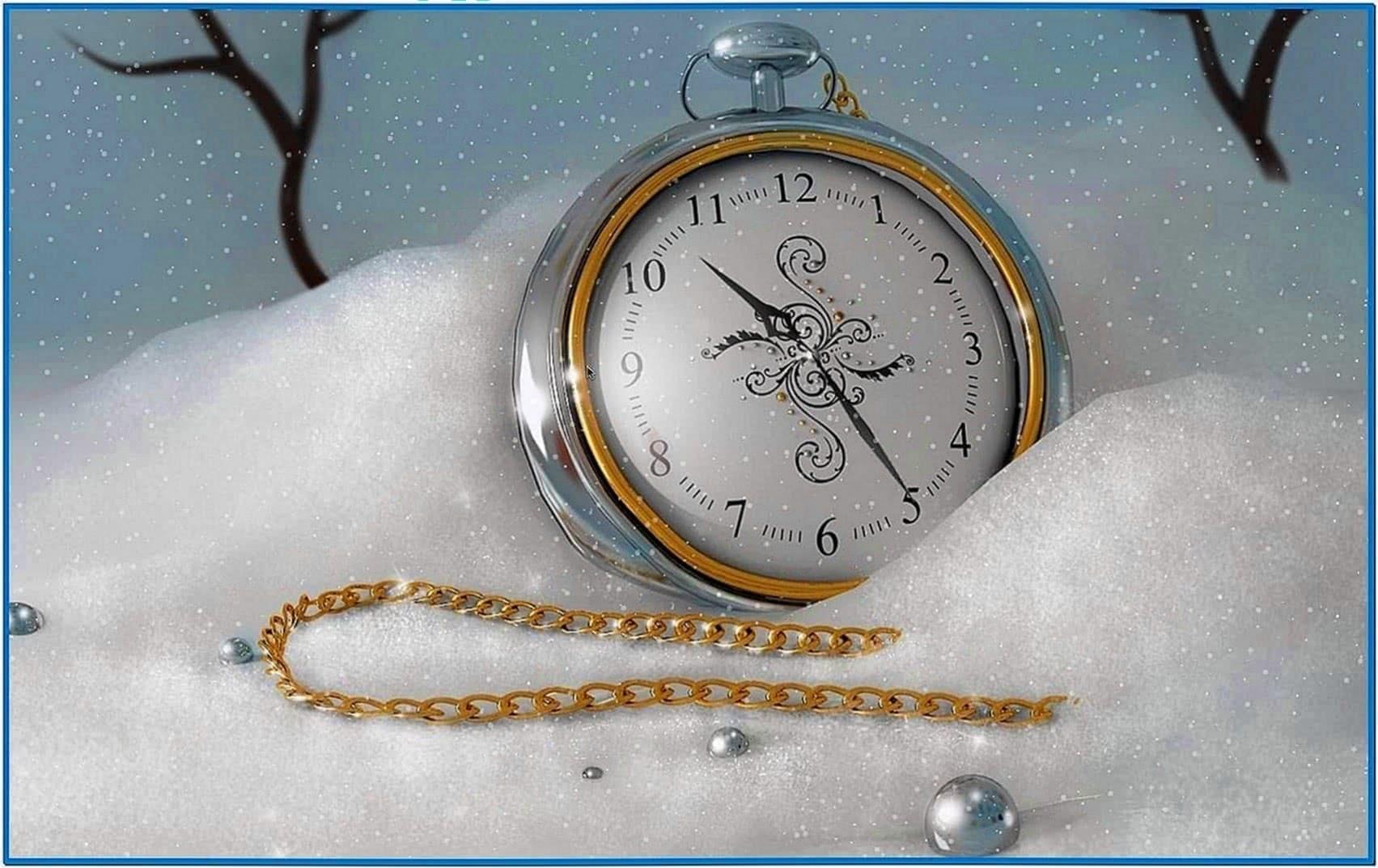 Snow Leopard Christmas Screensaver