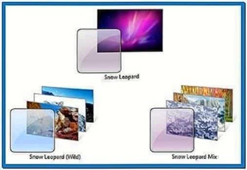 Snow leopard screensaver Windows 7