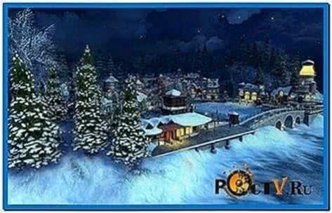 snow village 3d screensaver keygen
