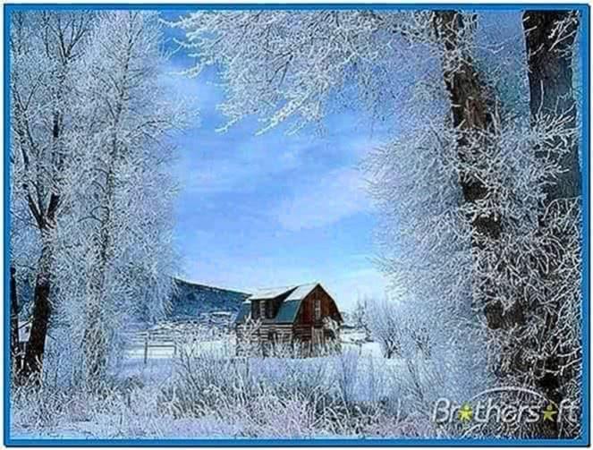 Snowy Scenes Screensaver