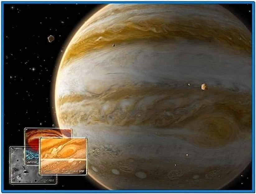 Solar System 3D Screensaver Mac