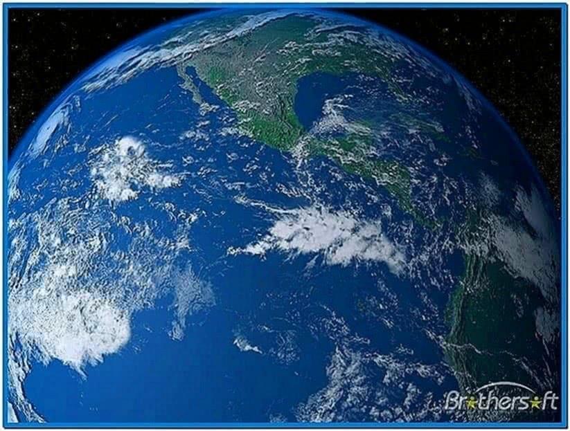 Solar System Earth 3D Screensaver 1.7
