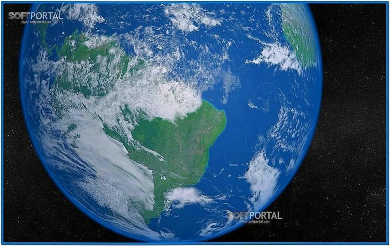 Solar system earth 3D screensaver 1.8