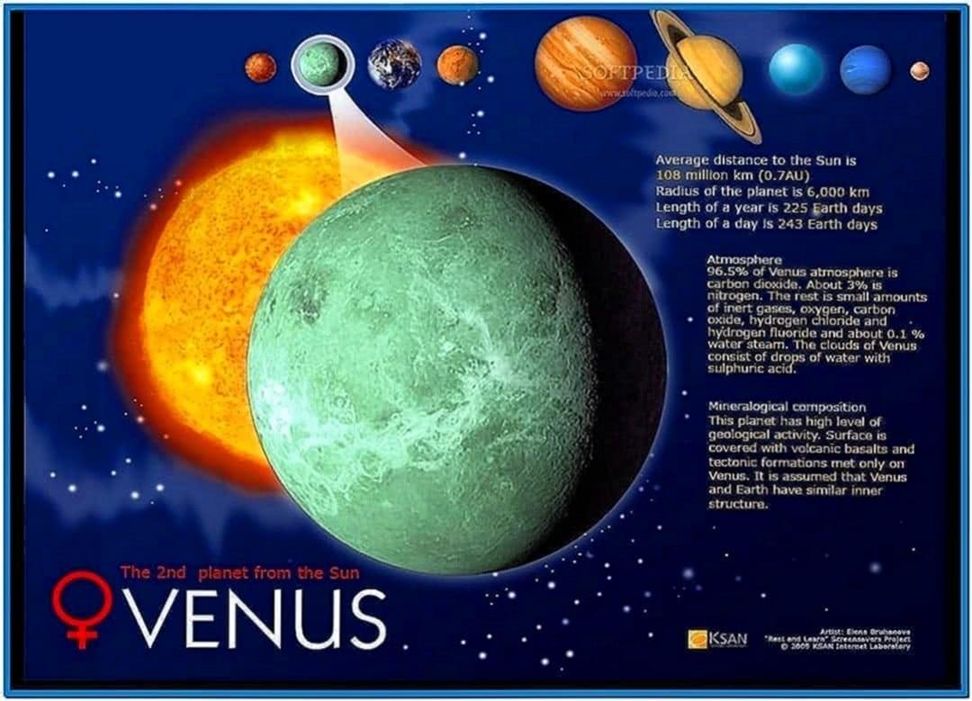 Solar System Screensaver Full Version