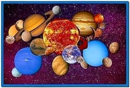 Solar System Screensaver Nasa