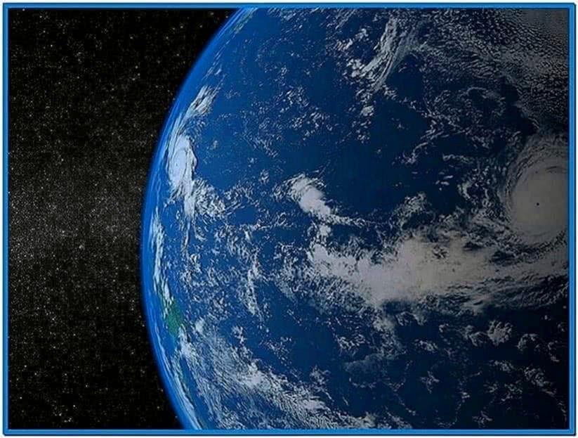 Solar System Screensaver Vista