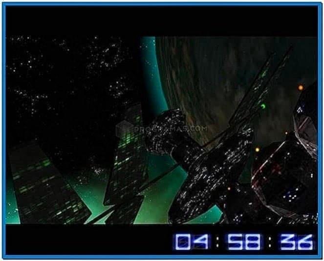 Space Flight 3D Screensaver 1.3