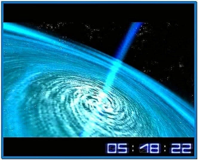 Space Flight 3D Screensaver Code