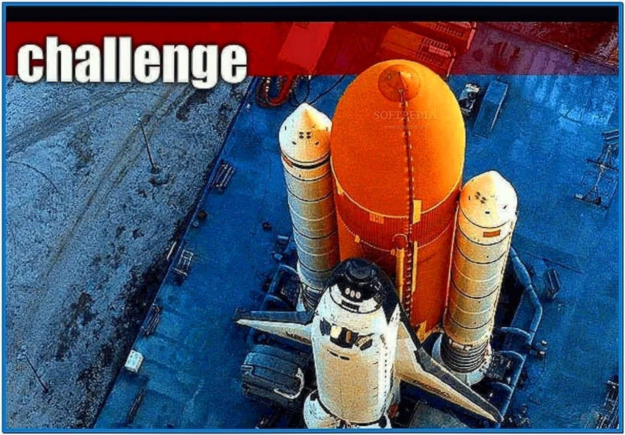 Space Flight Screensaver