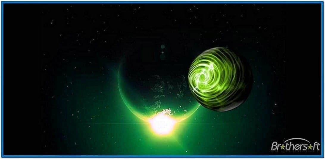 Space Screensaver Windows 7