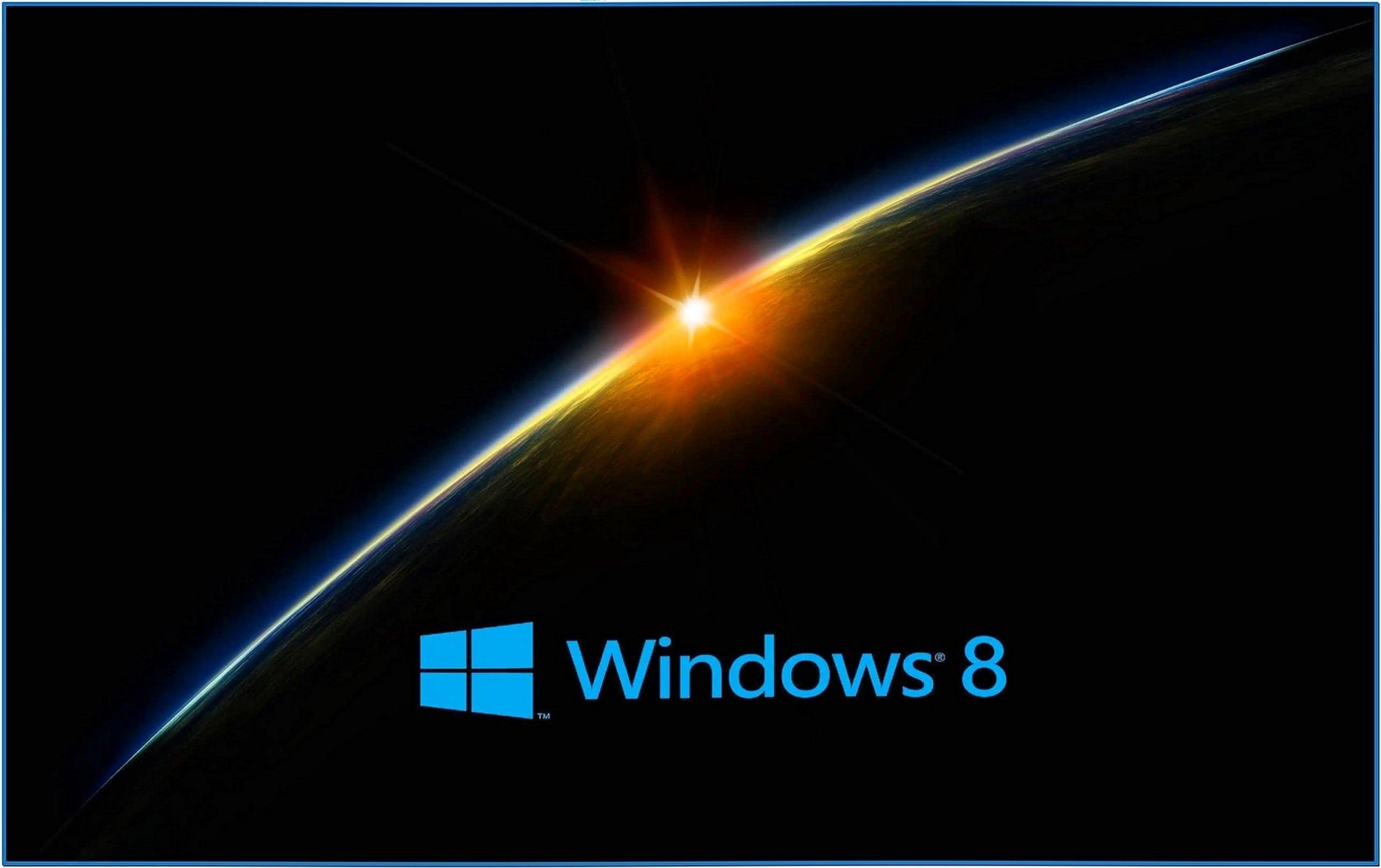 Space Screensaver Windows 8