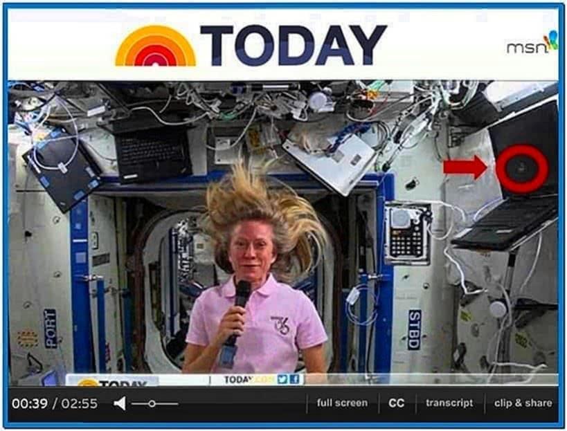 Space Station Screensaver Windows XP