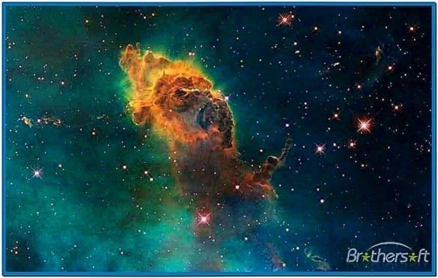 Space Travel Screensaver Mac