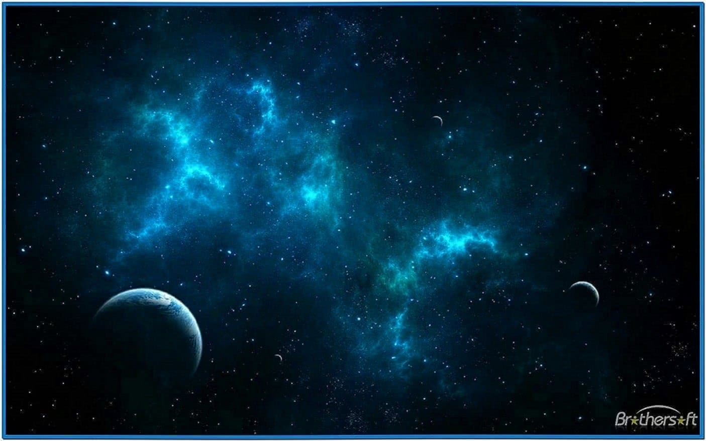Space Travel Screensaver Windows 7