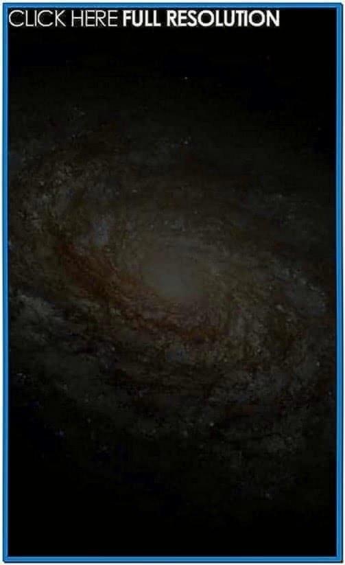 Spinning Galaxy Screensaver Windows 7