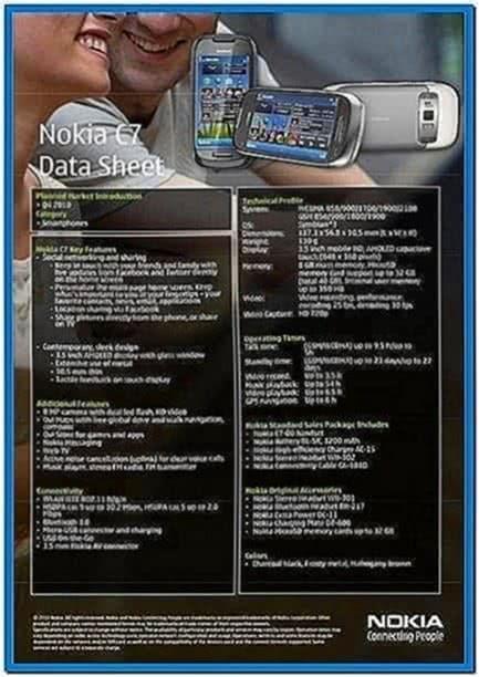Splus multimedia screensaver Symbian 9.4