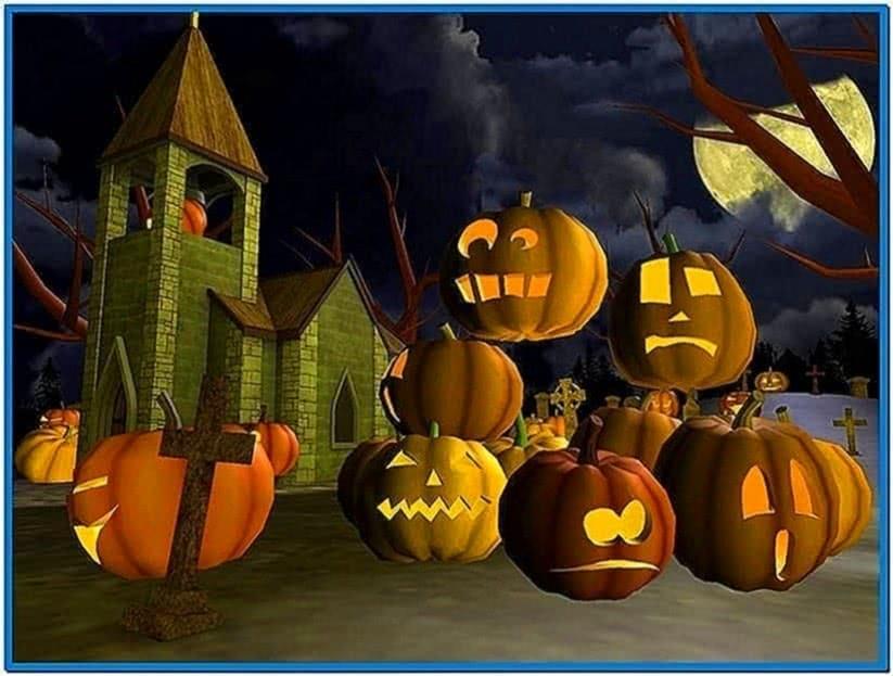 Spooky halloween screensavers
