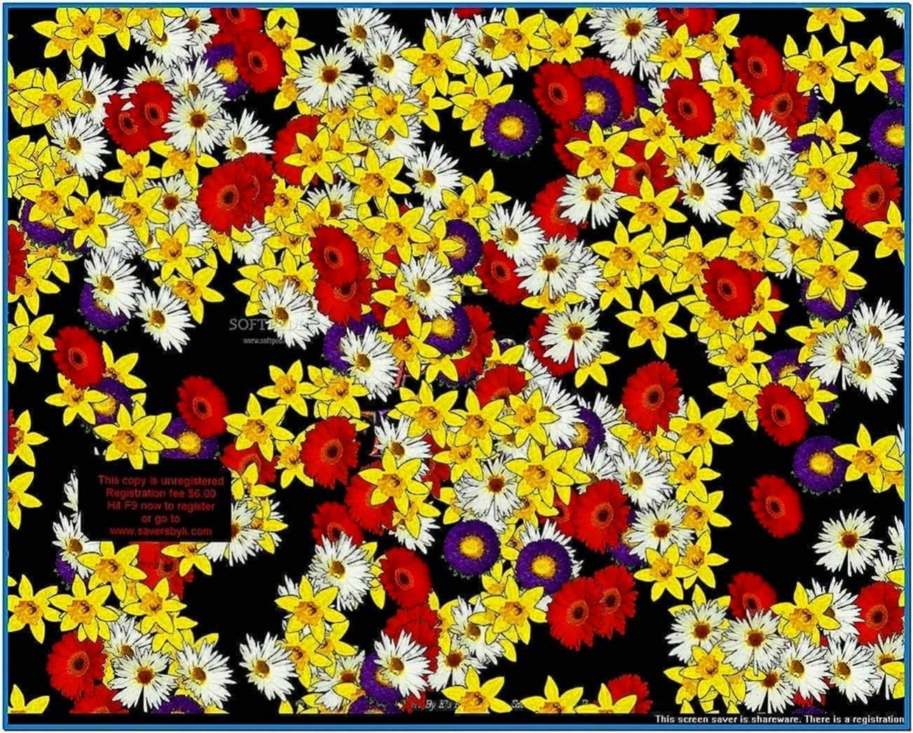 Spring Flowers Screensaver
