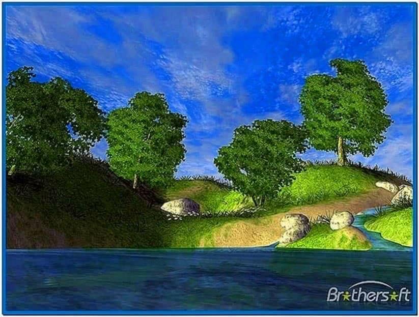 Spring Lake 3D Screensaver