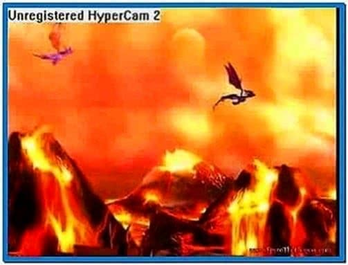Spyro The Dragon Screensaver