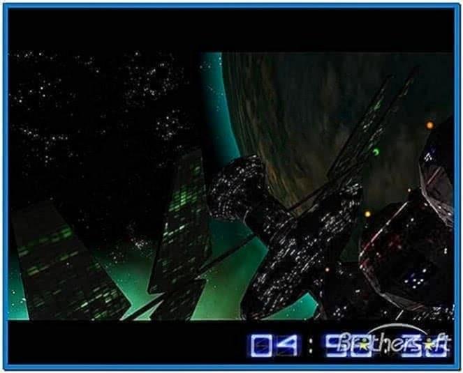Star Wars 3D Screensaver Mac