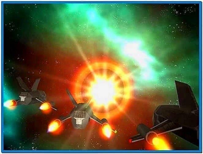 Star Wars 3D Space Battle Screensaver
