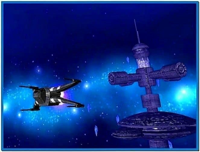 Star Wars Screensaver 3D