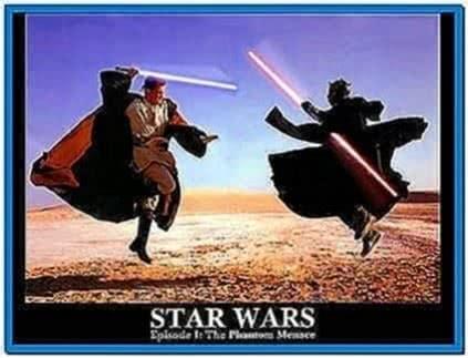Star wars screensaver and wallpaper