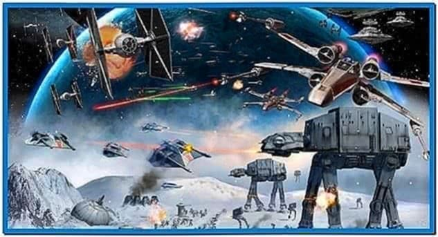 Star Wars Screensaver Animated