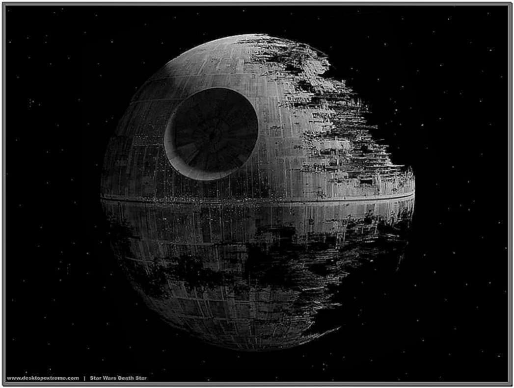 Star Wars Screensaver Death Star