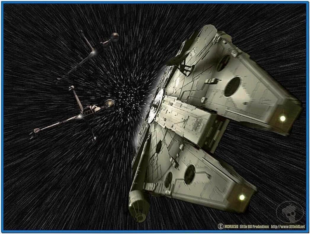 Star Wars Screensaver Hyperspace Download For Free