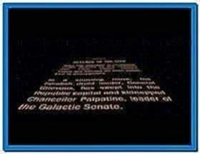 Star Wars Screensaver Mac OS X