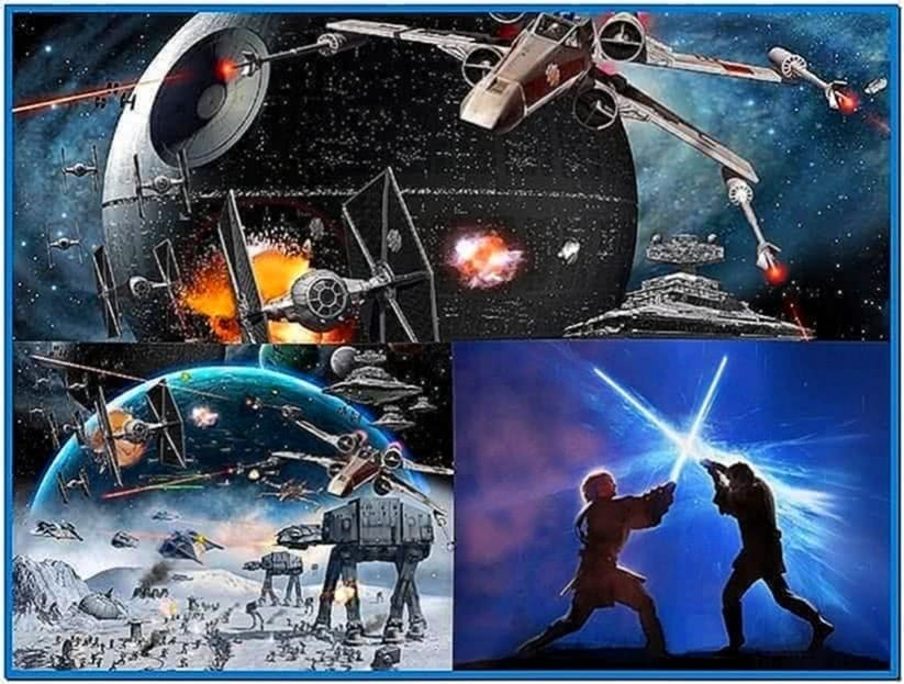 Star Wars Screensaver Windows 7
