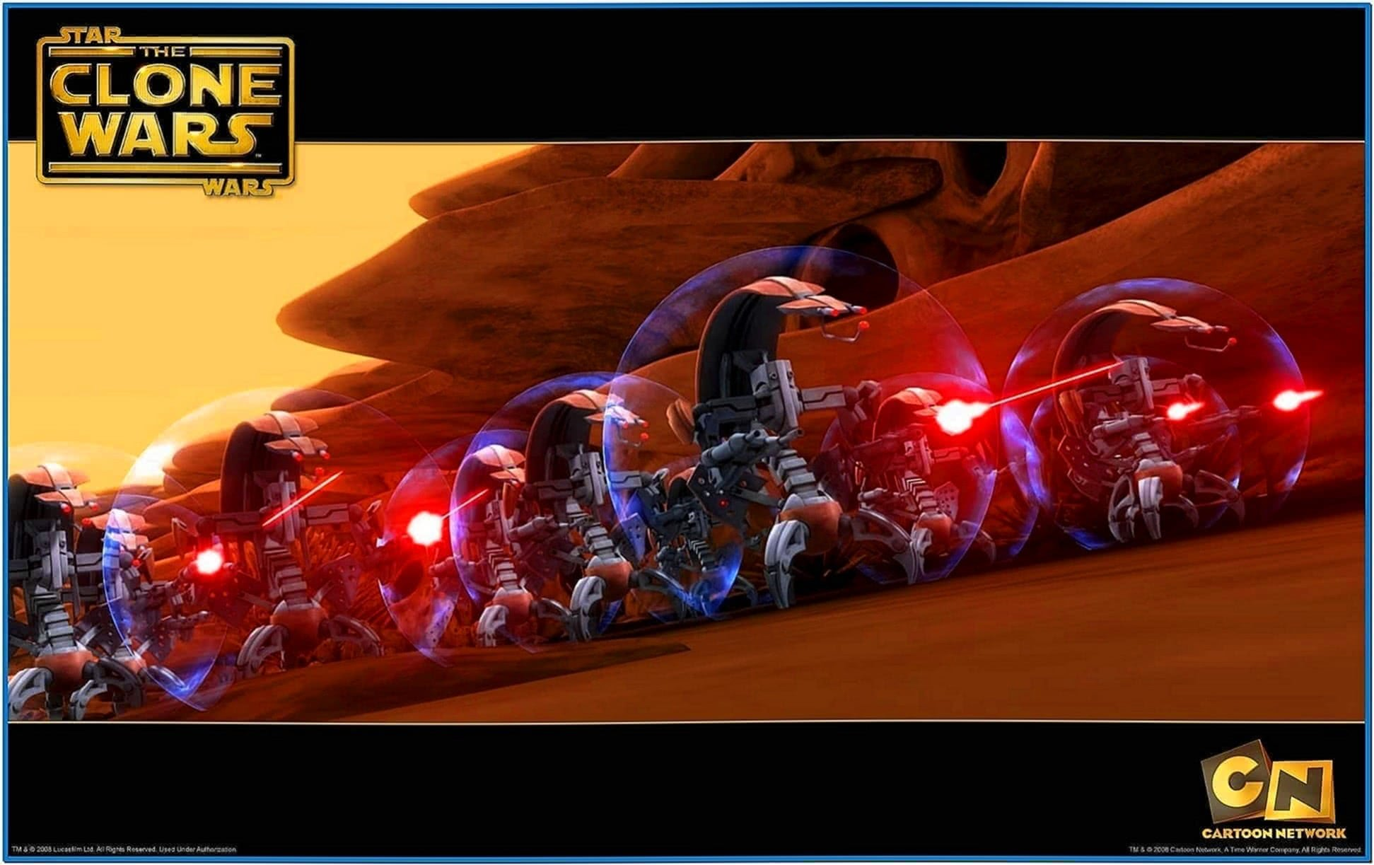 Star Wars The Clone Wars Screensaver