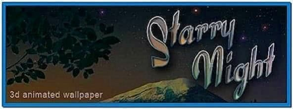 Starry Night 3D Screensaver 1.0.0.1