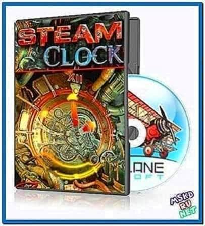 Steam Clock 3D Screensaver 1.0.0.1