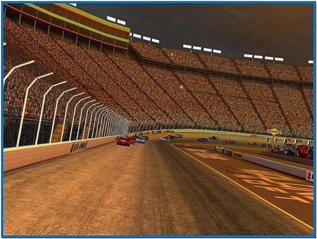 Stock Car Racing 3D Screensaver